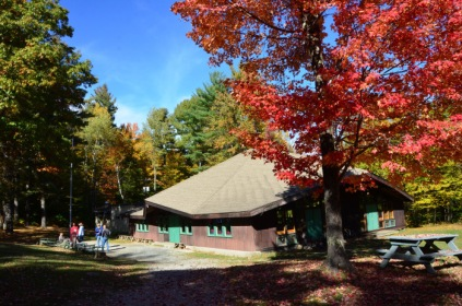 CTT dining hall outside autumn