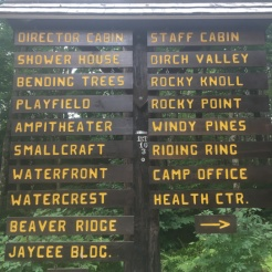 CTT wood sign directory